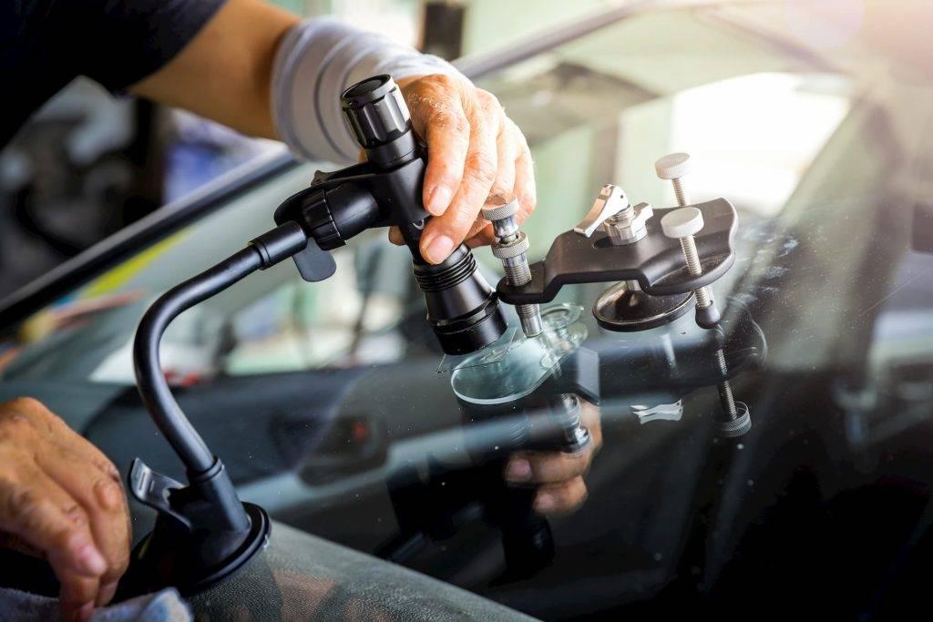 Car windscreen repair