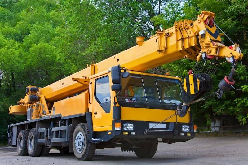 Crane windscreen repair